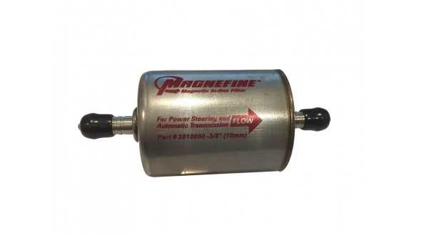 "Magnefine®  3/8"" Magnetic Inline Power Steering Filter"