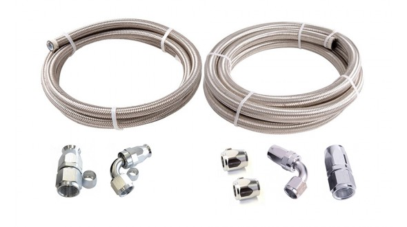 Power Steering Hose to Pump Kit - Suit Barbed Filter