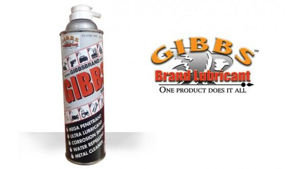 GIBBS Brand Lubricant & Penetrant Aerosol Spray